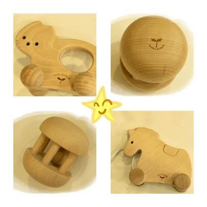 嬰兒系列木質玩具細部圖
