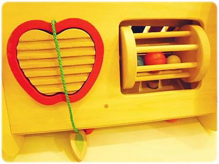 音樂會積木-蘋果造型刮胡