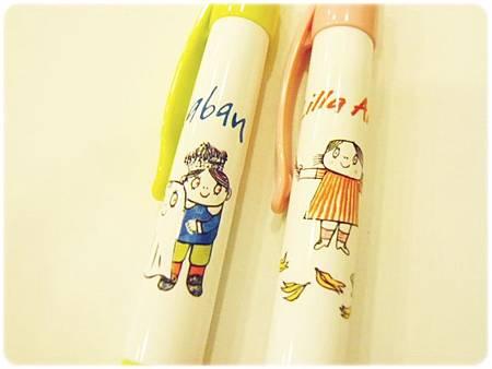 Lilla Anna&Laban原子筆細部圖