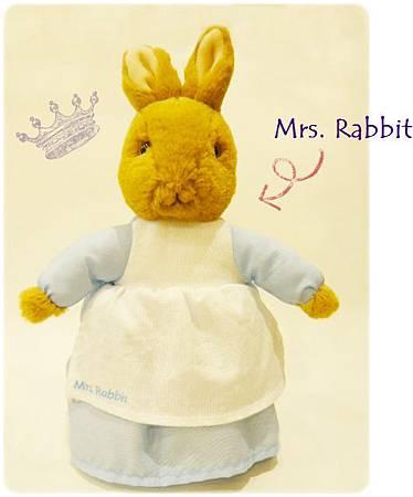 兔媽媽玩偶