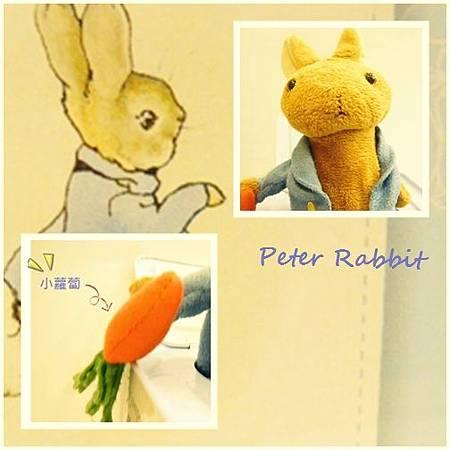 彼得兔音樂匣-細部圖