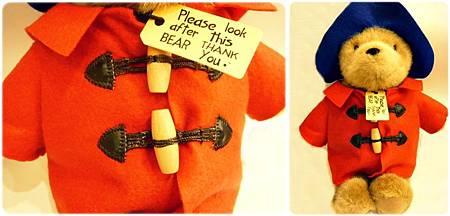 柏靈頓熊(紅色外套)