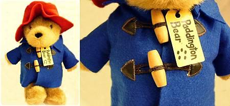 柏靈頓熊(藍色外套)