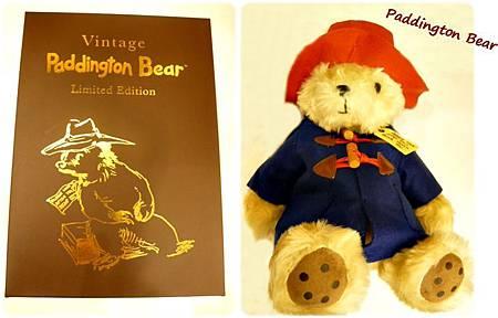 復古柏靈頓熊(附盒)