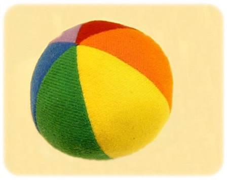 軟質動物保齡球組-布質玩具球