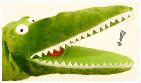 Croc鱷魚系列-手偶細部圖