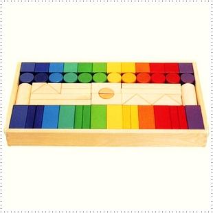 彩色積木組