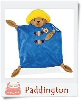柏靈頓熊玩偶+毯子