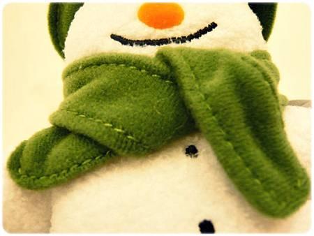 雪人小玩偶