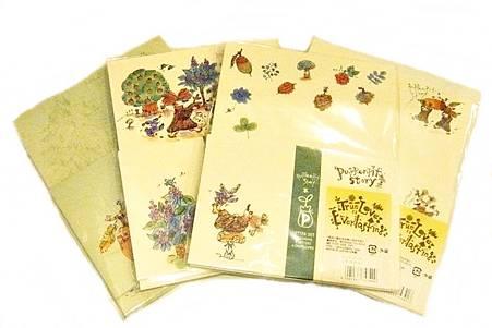 仁科幸子系列文具-信封信紙組