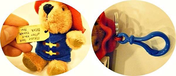 柏靈頓熊鑰匙圈