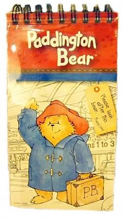 柏靈頓熊的線圈筆記本