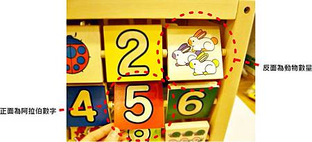 益智綜合遊戲箱-數字對照
