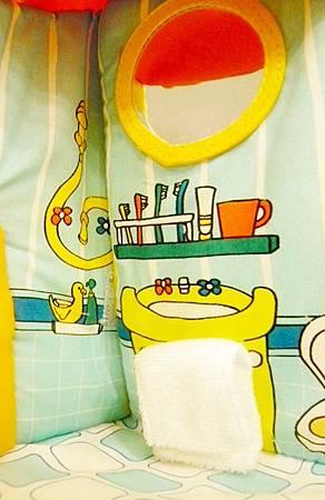 小熊娃娃布屋-浴室