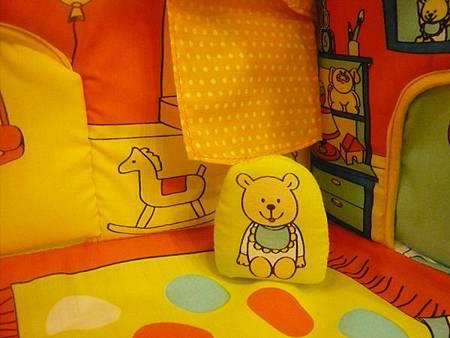 小熊娃娃布屋