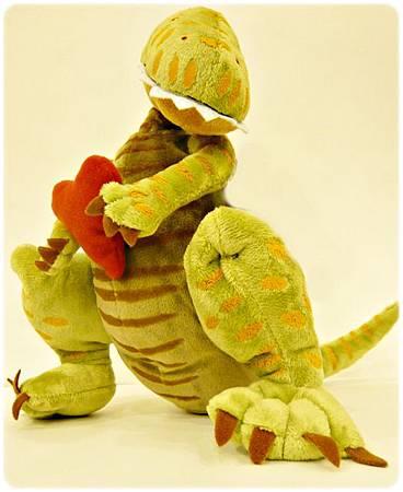 恐龍怎麼說愛玩偶