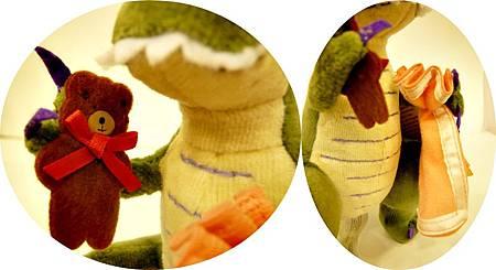 恐龍怎麼說晚安玩偶