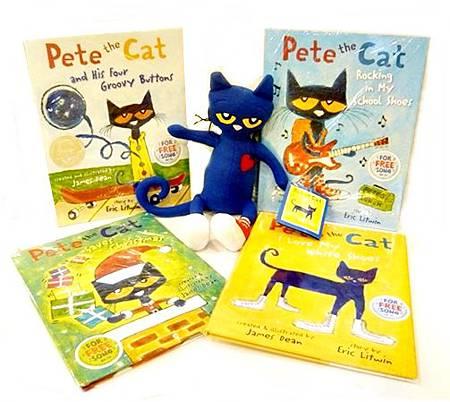 Pete cat玩偶
