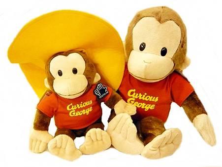 黃帽&經典喬治好奇猴玩偶