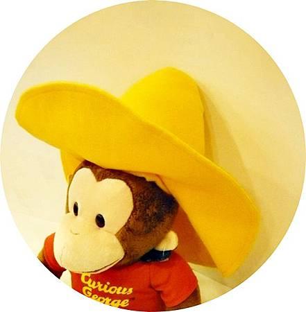 黃帽喬治好奇猴玩偶