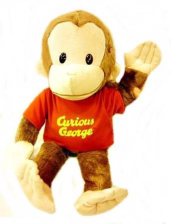 經典喬治好奇猴玩偶