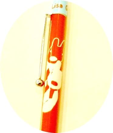 麗莎與卡斯柏自動鉛筆(紅-金屬)