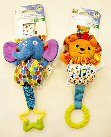 大象/獅子音樂吊掛玩具