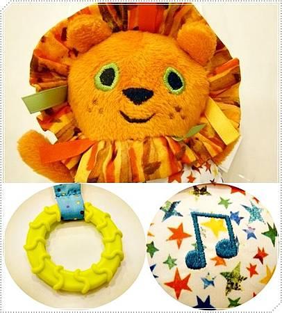 獅子音樂吊掛玩具