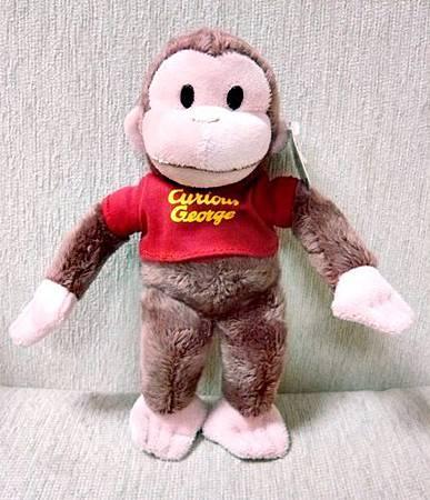 好奇猴喬治小玩偶