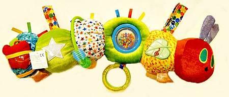 好餓的毛毛蟲有聲感官玩具
