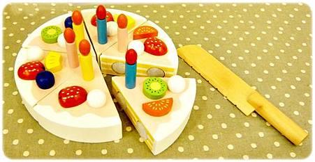 蛋糕師傅玩具組-完整蛋糕模型