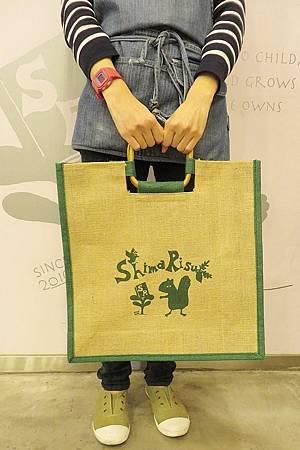 花栗鼠獨家環保麻布提袋