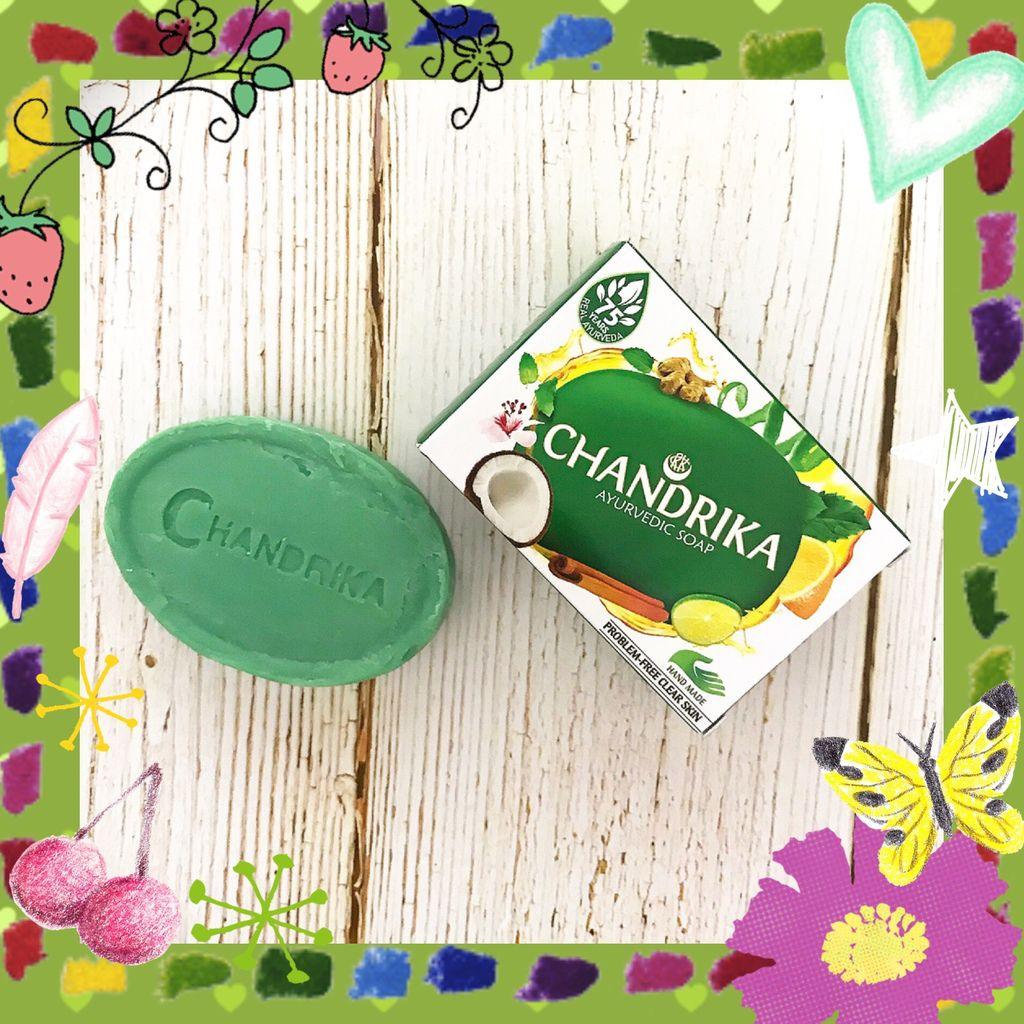 CHANDRIKA香蒂卡 阿育吠陀藥草手工皂配方簡單無負擔 我的皂類清潔產品首選推薦印度奇蹟皂