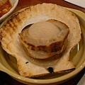 那麼大顆甘貝,半生不熟的我不太敢吃