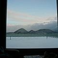 一早起床後,窗外風景