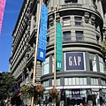 舊金山聯合廣場,這裡的建築物好美