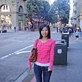 很多觀光客湧入舊金山,這裡日本人很多