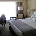 房間不大但景觀很好,特別是這床好軟,很好睡
