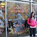 Halloween快來了, 國外街頭漸漸有過節fu