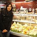 這是間連鎖咖啡店,最後變成我們在紐約最愛來吃的店