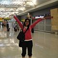 飛好久終於飛到美國了,開心!!!