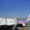 我搭的是美國AA航空