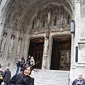 聖派屈克教堂外