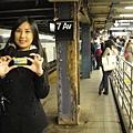 來紐約那麼多天,第一次搭地鐵