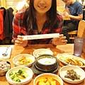 晚餐跑到韓國村吃韓式料理