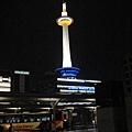 京都塔,車站出來就看的到了