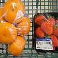 橘子跟草莓都好好吃