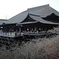 清水寺好高,蓋在半山腰上