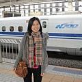 我們要搭N700型去神戶