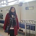 今天要搭新幹線從京都到神戶,但不是這台